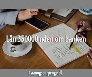 Lån 350000 uden om banken