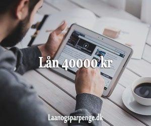 Lån 40000 kr