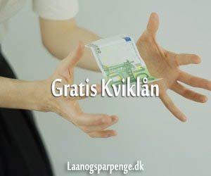 Gratis Kviklån