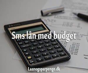 Sms lån med budget